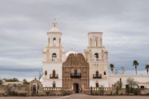 San Xavier del Bac in Tucson AZ